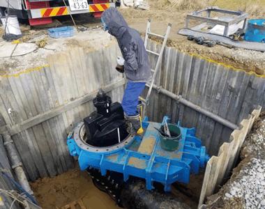 公共水道工事