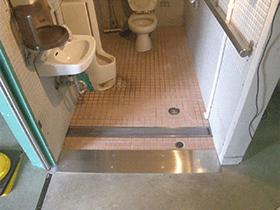 障がい者施設トイレ改修工事