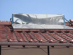 太陽光温水器修理